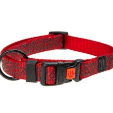 Karlie Obojek ASP Mix&Match červený motiv Grafit velikost M 40-55cm 20mm