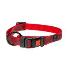 Karlie Obojek ASP Mix&Match červený motiv Grafit velikost S 30-45cm 15mm