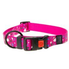 Karlie Obojek ASP Mix&Match růžový motiv CHIP velikost L/XL 45-65cm 25mm