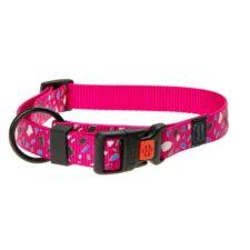 Karlie Obojek ASP Mix&Match růžový motiv CHIP velikost M 40-55cm 20mm