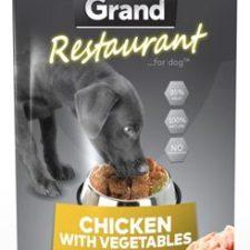 GRAND kaps. deluxe pes Restaur. 100% kuřecí