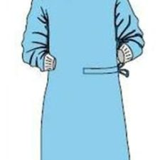 Plášť operační PRIMA XXL sterilní modrý Dina 1ks