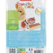 Crunchy Cake jablko/banán pro hlodavce 75g Zolux