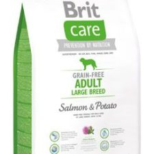 Brit Care Dog Grain-free Adult LB Salmon & Potato 3kg