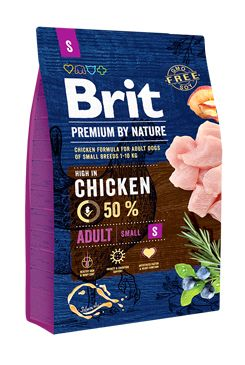 Brit Premium Dog by Nature Adult S 3kg