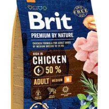 Brit Premium Dog by Nature Adult M 3kg