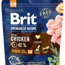 Brit Premium Dog by Nature Senior S+M 1kg