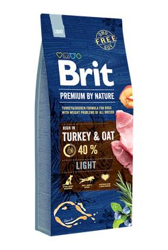 Brit Premium Dog by Nature Light 15kg