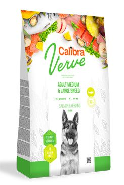 Calibra Dog Verve GF Adult M&L Salmon&Herring 12kg
