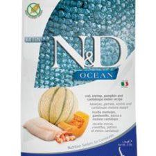 N&D OCEAN CAT Kitten Cod & Shrimp&Pumpkin&Melon 1