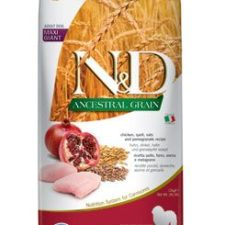 N&D LG DOG Adult Giant Chicken & Pomegranate 12kg