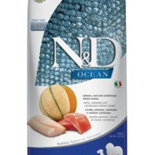 N&D OCEAN DOG Adult M/L Salmon & Cod & Melon 12kg