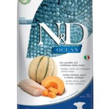 N&D OCEAN DOG Puppy Mini Codfish & Pumpkin & Melon 7kg
