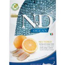 N&D OCEAN CAT NEUTERED Adult Herring & Orange 1