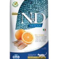 N&D OCEAN CAT NEUTERED Adult Herring & Orange 5kg
