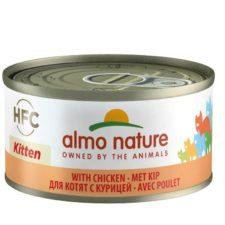 24x Almo Nature HFC Natural Kuřecí pro koťata 70g výhodné balení