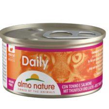 24x Almo Nature Daily Pěna s tuňákem a lososem 85g výhodné balení