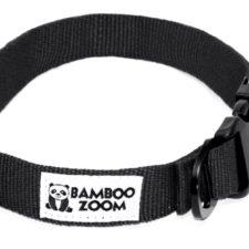Bamboo Zoom Obojek pro psy černý L