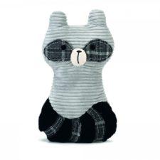 Designed by Lotte Hračka mýval Lirca pro psy látková šedá 25
