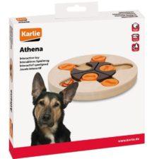 Karlie Interaktivní dřevěná hračka Athena 23cm