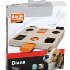 Karlie Interaktivní dřevěná hračka Diana 29x24x2