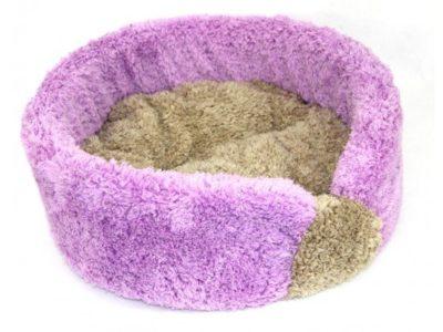 Marysa pelíšek fialová/béžová - DE LUXE