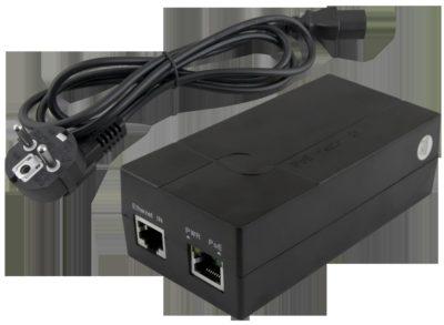 PoE napájecí zdroj pro jednu IP kameru