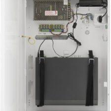 Skříňka pro DVR / NVR rekordéry s bezpečnostním napájecím zdrojem pro osm kamer