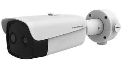 Termokamera pro bezkontaktní měření teploty s živým obrazem a WDR