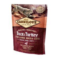 Carnilove Cat Adult Duck & Turkey Large B.Grain Fr 0,4 kg