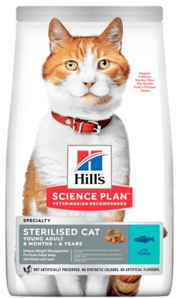 Hill's Science Plan Feline  Young Adult Sterilised Tuna 3 kg NOVÝ