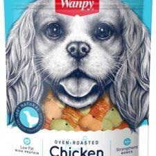 Wanpy Dog Chicken Jerky & Biscuit Twists 100 g