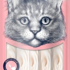 Wanpy Cat Creamy Lickable Treats-Tuna & Shrimp 5x14 g