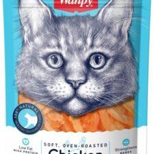 Wanpy Cat Soft Chicken Jerky Strips for Cat 80 g