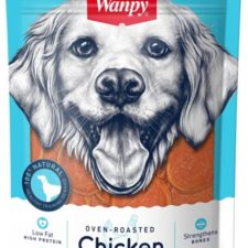 Wanpy Dog Chicken Jerky Chips 100g