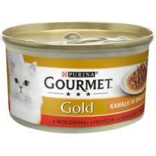 Gourmet Gold cat konz.-Sauce Delight Minifiletky hovězí 85 g