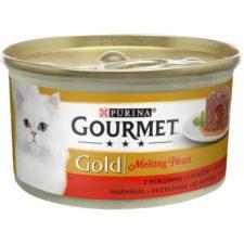 Gourmet Gold cat konz.-Melting heart paštika hovězí 85 g