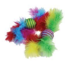 Hračka cat peří Carnival Ratller 2ks HP