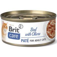 Brit Care Cat konz. Beef Paté with Olives 70 g