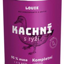 Louie konz. pro psy kachní s rýží 400 g