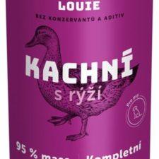 Louie konz. pro psy kachní s rýží 1200 g