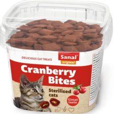 Sanal cat snack Kuře a brusinky 75 g