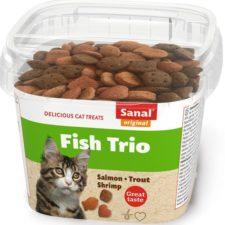 Sanal cat snack Ryba TRIO 75 g