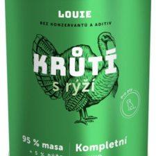 Louie konz. pro psy krůtí s rýží 400 g