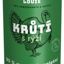 Louie konz. pro psy krůtí s rýží 1200g