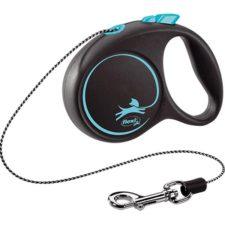 Flexi Black Design XS lanko 3 m modré 8 kg