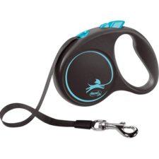 Flexi Black Design S pásek 5 m modré 15 kg
