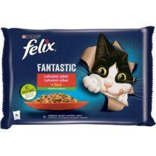 Felix cat kaps.-Fant.Multipack mas.výběr +zelen. 4 x 85 g