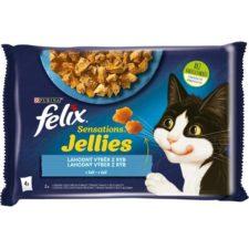 Felix cat kaps.-Sens.Multipack losos,treska v želé 4 x 85 g