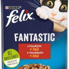Felix cat kaps.-Fantastic hovězí v želé 85 g